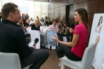Miranda Kerr 3D Reebok Campaigne Launch in Munich 02