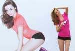 Miranda Kerr 3D Reebok Campaigne Launch in Munich 09
