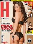 Paola Toyos H para Hombres Portada