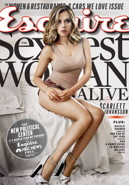 "Scarlett Johansson – Esquire Magazine ""Sexiest Woman Alive"" Photoshoot 01"