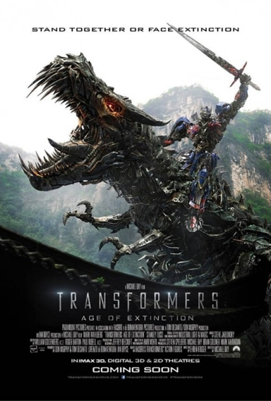 Transformers- Age of Extinction Poster